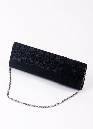 Sale клатч чёрный victoria delef