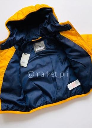 Куртка примарк для мальчика, демисезонная куртка примарк, куртка primark на синтепоне3 фото