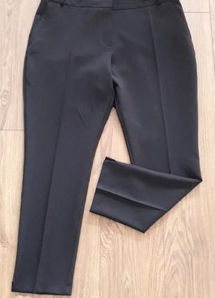 Чорні фірмові завужені класичні брюки (atmosphere)2