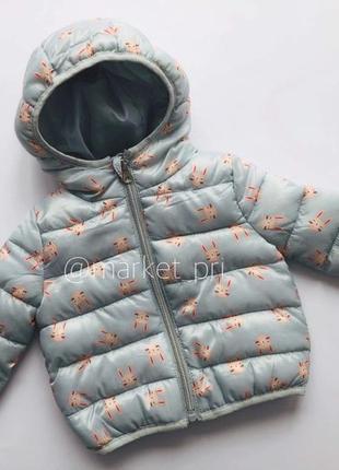 Куртка примарк для девочки, демисезонная куртка примарк, куртка primark на синтепоне