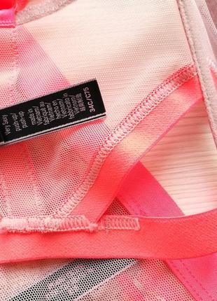 Роскошный комплект бюстье и трусики от victoria's secret. 🍒 оригинал7 фото