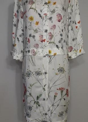 Платье в полевые цветы