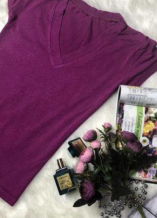 Розовая футболка /размер xs