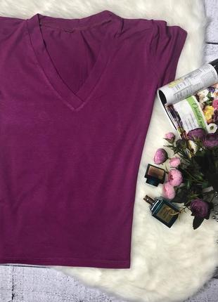 Розовая футболка /размер xs2 фото