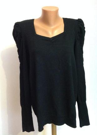 Вискозная немецкая блузка - свитшот  /xl- xxl/ brend bonita