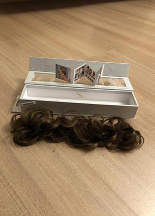 Прицепной натуральный волос.