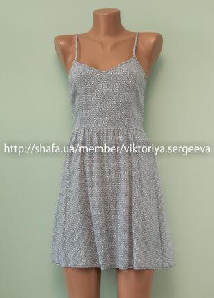 Большой выбор платьев - безумно легкое летнее платье в принт