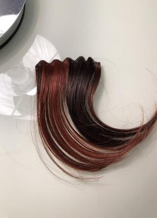 Натуральная прядка волос