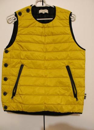Жилетка syndicate original/sndct (унисекс ) ярко желтая жилетка