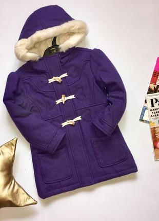 Мего классное шерстяное пальто от marks&spenser