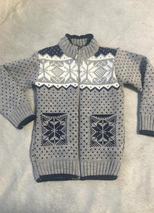 Продам свитерок на молнии 1-2 года