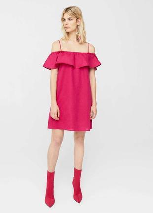 106af1a93c6 Короткие платья Mango 2019 - купить недорого вещи в интернет ...
