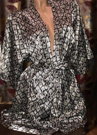 ⭐️ шикарный халат-кимоно   esmara •р.м