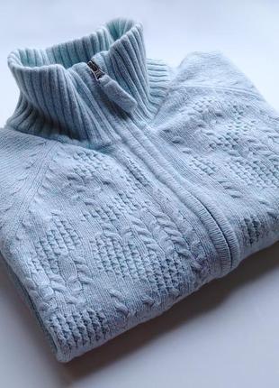 Теплый ангоровый свитер columbia с карманами оригинал
