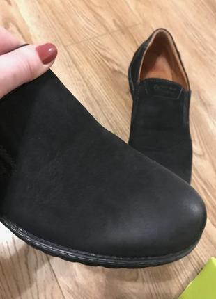 Туфли без шнурков на плоской подошве