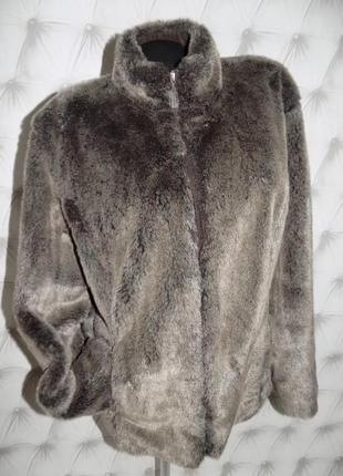 Меховая куртка на молнии, авто-леди