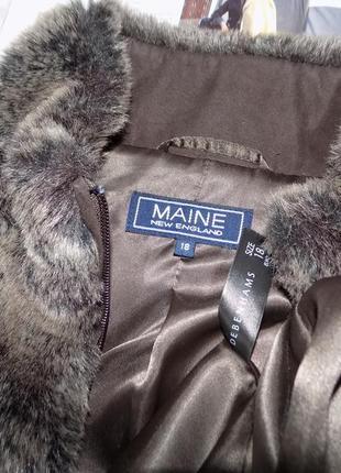 Меховая куртка на молнии, авто-леди4 фото