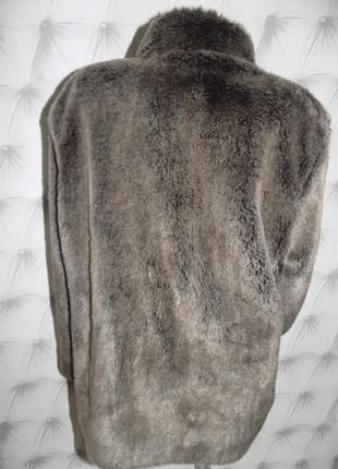 Меховая куртка на молнии, авто-леди5 фото