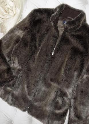 Меховая куртка на молнии, авто-леди6 фото