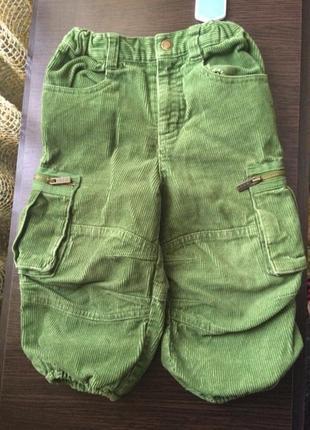 Вельветові штани h&m