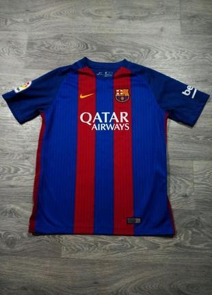 Футболка nike dri fit barcelona barca