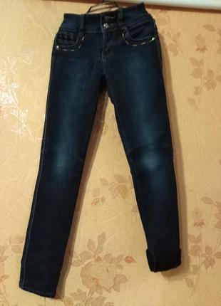 Зимние джинсы.