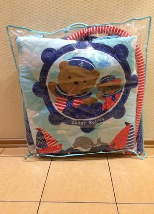 Развивающий коврик alexis-baby mix медвежата-моряки (tk/q3261ce-62104)