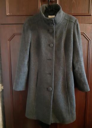 Пальто шерстяное marks & spencer.1