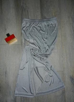S/м*mocca*серая узкая длинная юбка стального цвета в пол