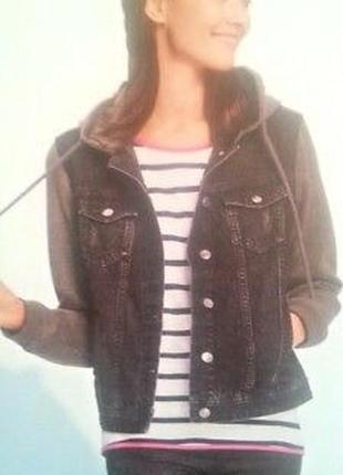 Esmara m пог 48 джинсовый пиджак, куртка