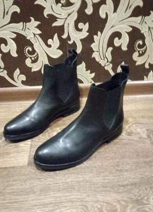 Новые ботинки ,,emmshu,, кожа
