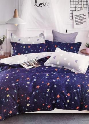 Комплект качественного постельного  белья евро, двуспалка, полуторка премиум сатин2 фото