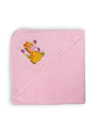 Полотенце-уголок с капюшоном для купания 75х751 фото