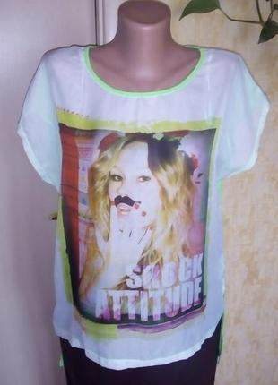 Стильная фирменная футболка /футболка/майка/тениска/блузка