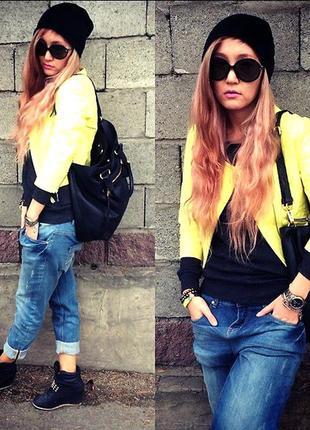 Женские джинсы бойфренды от terranova. размер xs.  джинсы плотные, тянутся