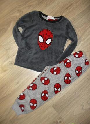 Теплая пижама на 4-5лет