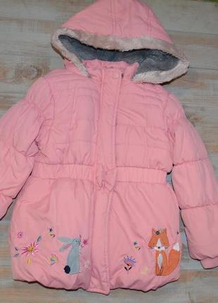 Куртка деми для девочки 3-4 года