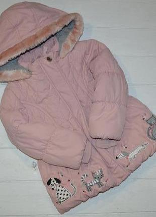 Куртка деми для девочки 2-3 года