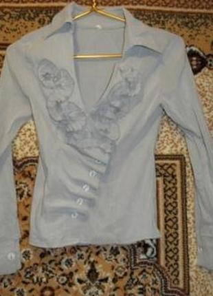 Классная стрейчевая блузка