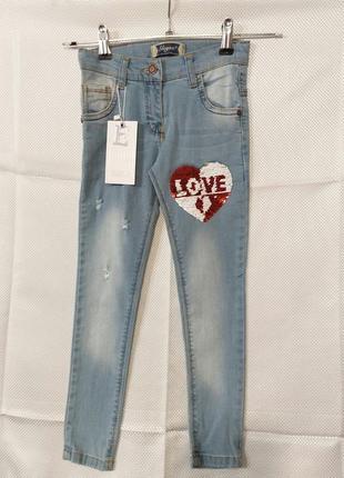 Неповторимые детские джинсы