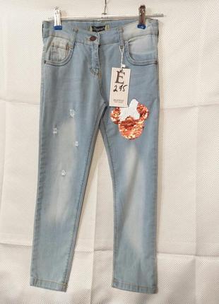 Необычные детские джинсы турция