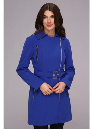 Пальто calvin klein новое оригинал синее синий весенний весна плащ тренч s с распродажа