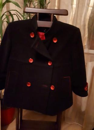 Полупальто/ пиджак/куртка кашемировый теплый. очень стильный!!! распродажа
