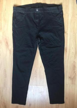 Котоновые стрейчевые брюки 54р