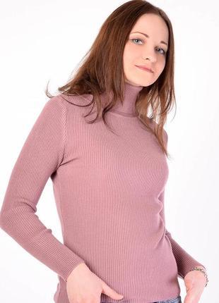 Розово-лиловый гольф (водолазка), носите с удовольствием.