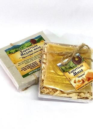 Мыло карпатское натуральное медовое, 50 г