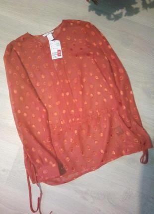Брендовая туника блузка 👚2 фото