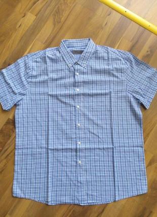Рубашка клетка стиль розмір-44-46