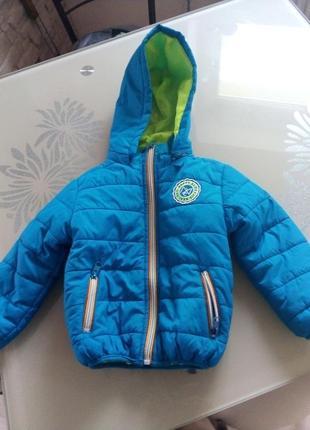 Курточка на хлопчика 3 роки