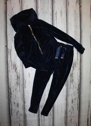 Велюровый спортивный костюм candy couture на 10 лет, 140 рост.